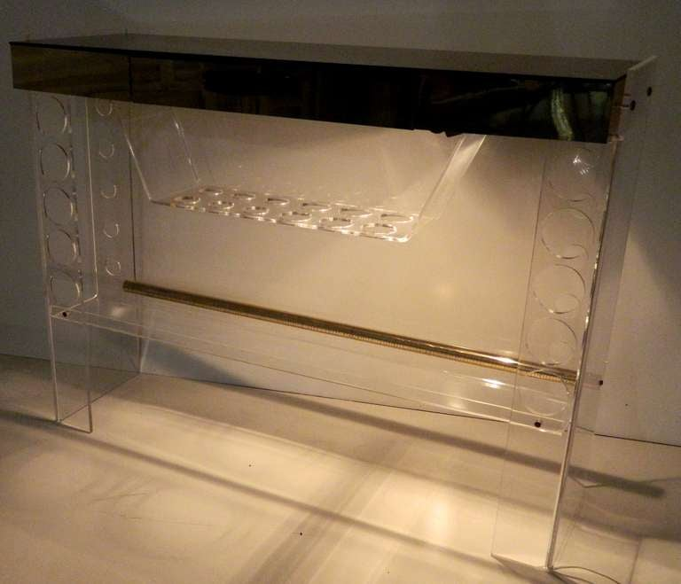 Lucite Bar For Sale 1