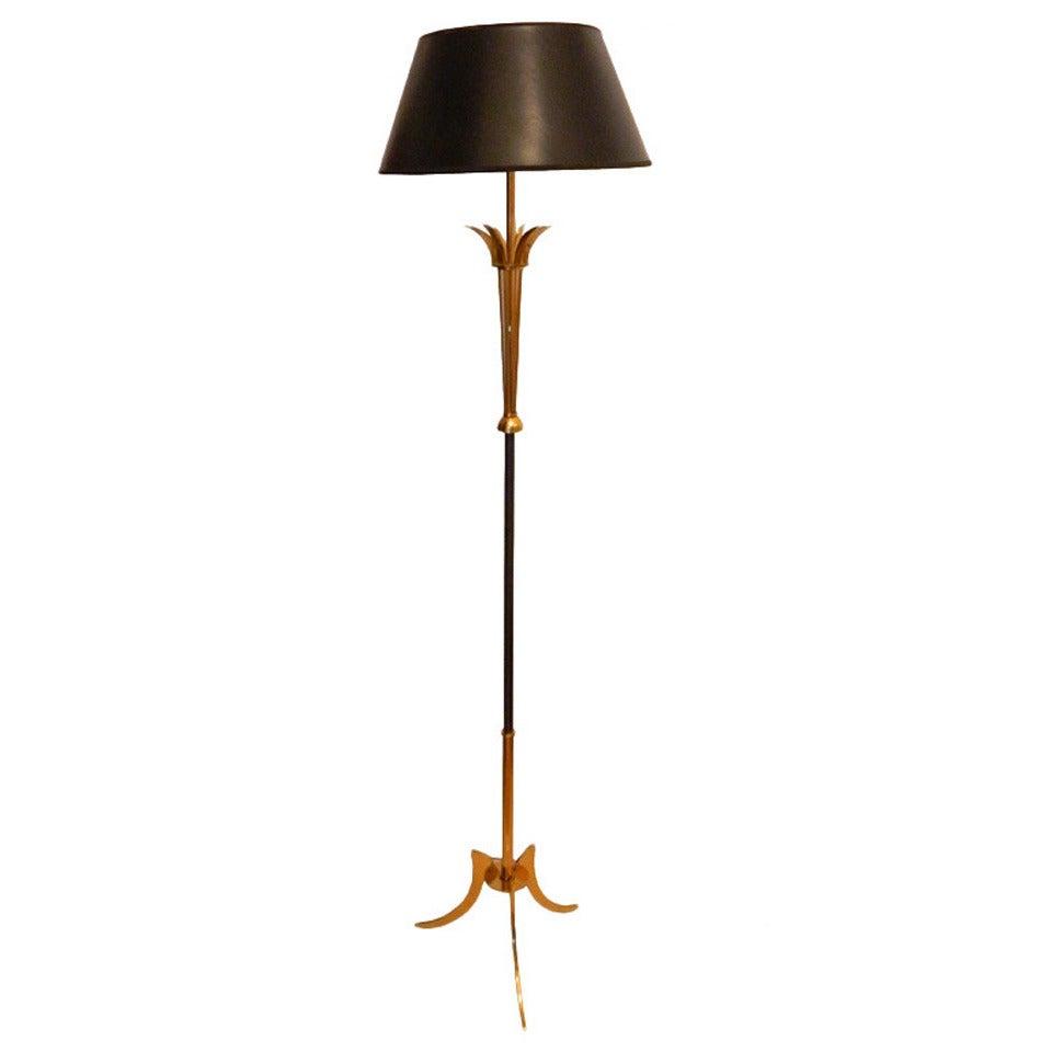 French floor lamp maison jansen for sale at 1stdibs for White french floor lamp