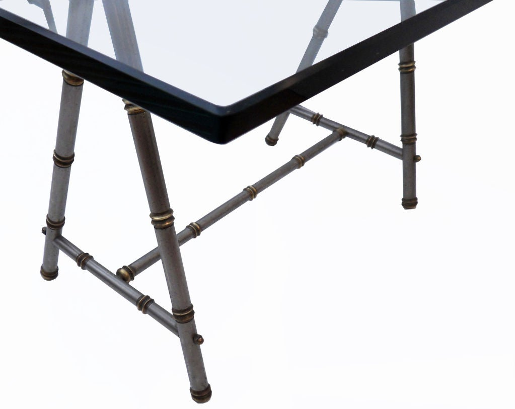 Maison Jansen Sawhorse Table At 1stdibs