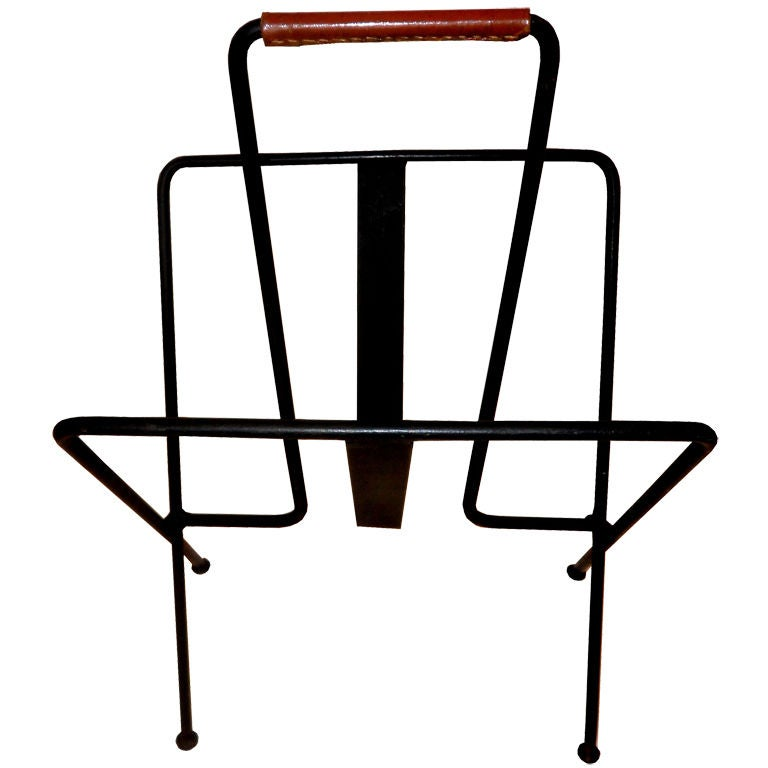 Jacques ADNET Magazine Rack