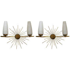 Pair of  Lunel French Sconces