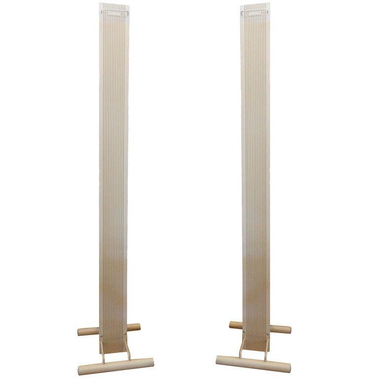 Pair of Signed Stilnovo Model Zagar Floor Lamps