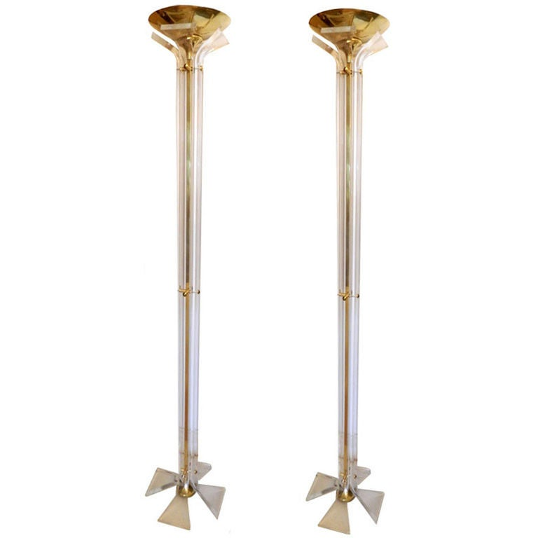 Pair of Italian Floor Lamps
