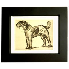 SATURDAY SALE. The Dog Signed Jouve