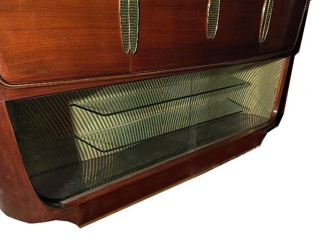 Vittorio Dassi Bar Cabinet In Good Condition For Sale In Miami, FL