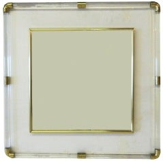 Huge square Lucite Mirror thumbnail 2