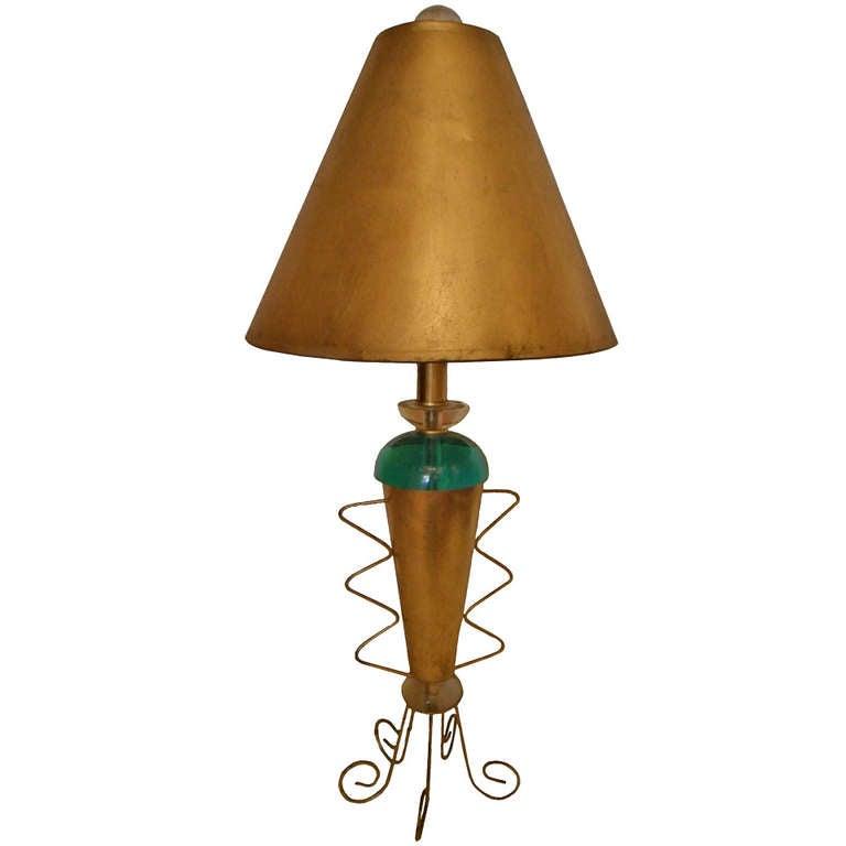 van teal table lamp for sale at 1stdibs. Black Bedroom Furniture Sets. Home Design Ideas
