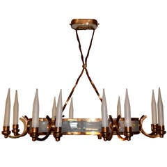 French Oval Chandelier