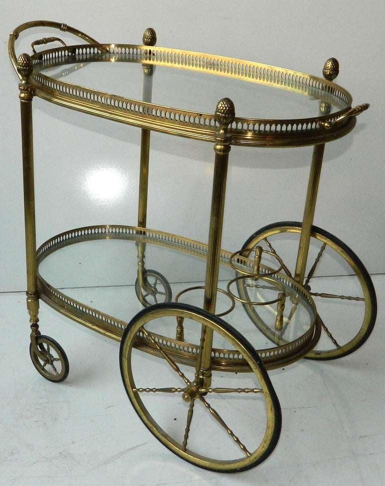 Vintage Bar Cart By Maison Bagues 2