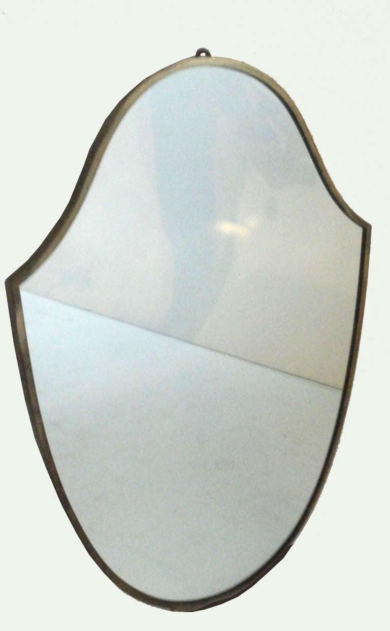 Shield Italian mirror C.1950'