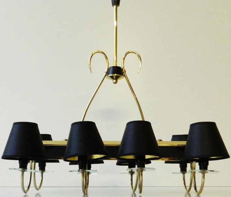 Elegant Rectangular Chandelier  For Sale 1