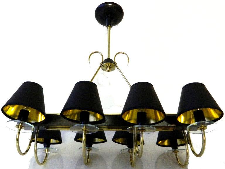 20th Century Elegant Rectangular Chandelier  For Sale