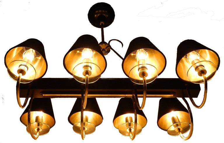 Elegant Rectangular Chandelier For Sale At 1stdibs