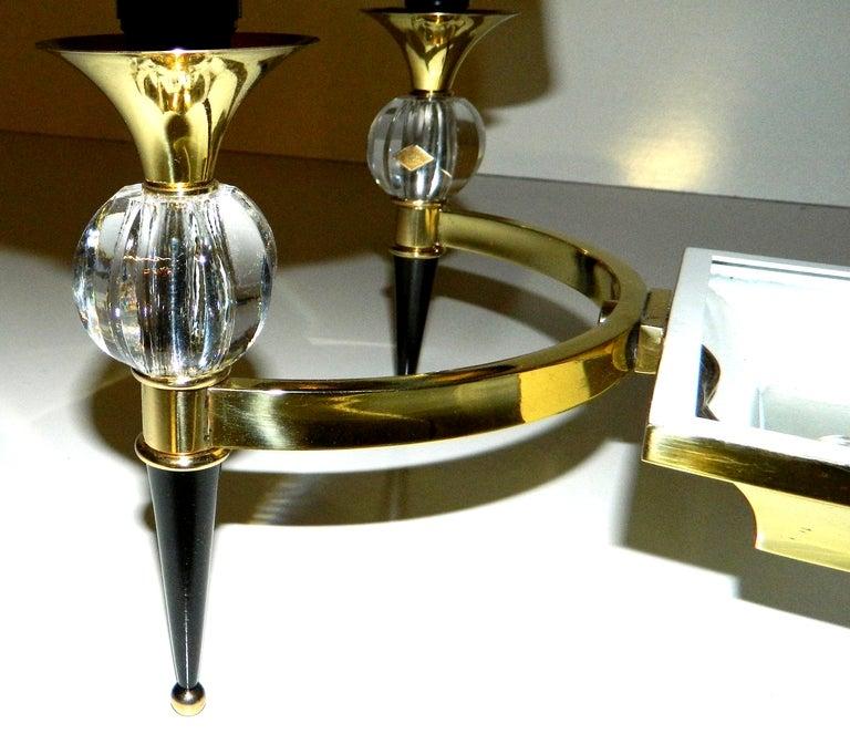 French Maison Jansen Chandelier For Sale