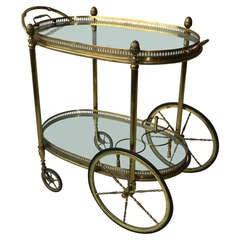 Vintage Bar Cart By Maison Bagues