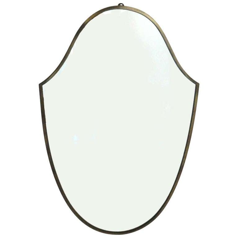 Shield  Italian mirror For Sale