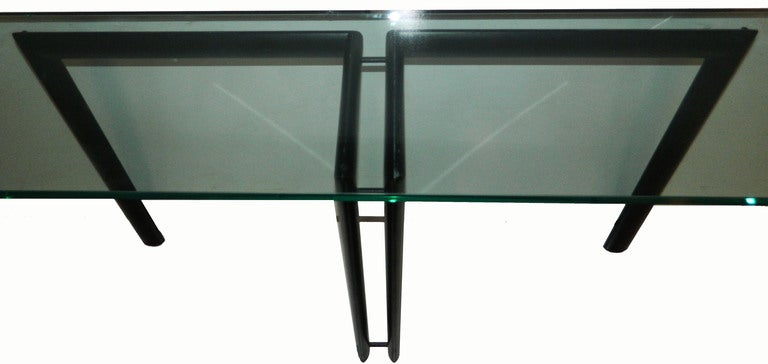 Mid-Century Modern Console  LC6 Style For Sale