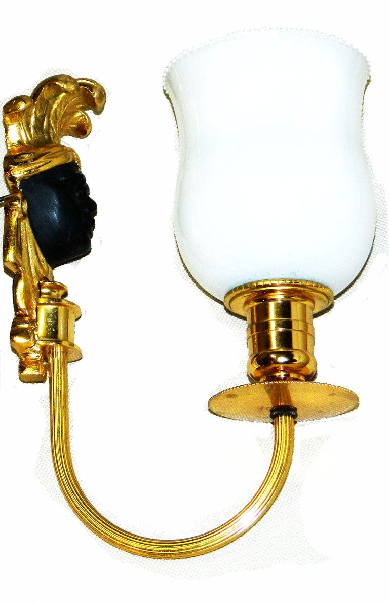 Maison Bagues Pair of Very Elegant Sconces For Sale at 1stdibs