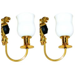 Maison Baguès Pair of Very Elegant Sconces