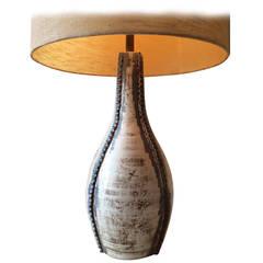 Ceramic Lamp by Tony Hill