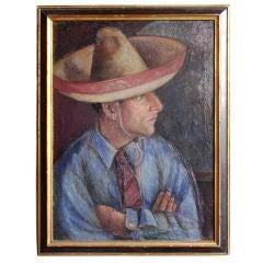 Marjorie Eakin (1910-1974) Student of Diego Rivera WPA Painting
