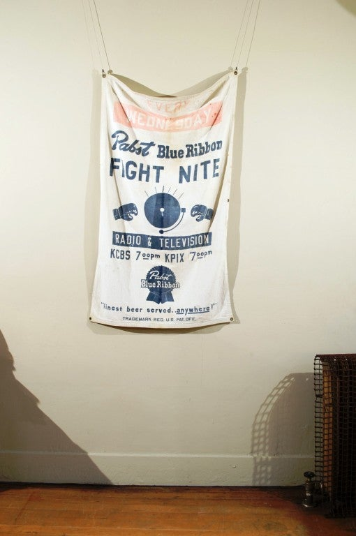 """Pabst Blue Ribbon Beer """"FIGHT NITE""""  Banner image 2"""