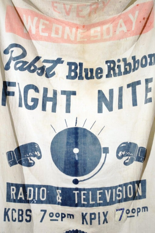 """Pabst Blue Ribbon Beer """"FIGHT NITE""""  Banner image 4"""