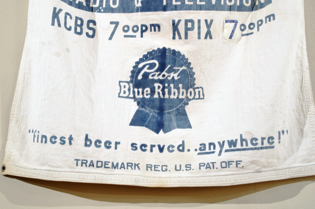 """Pabst Blue Ribbon Beer """"FIGHT NITE""""  Banner image 6"""
