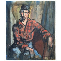 Lundy Siegriest 1925-1985 Portrait of a Boy