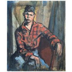 Lundy Siegriest 1925-1985 Portrait of a Boy