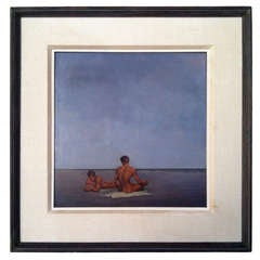 Alexander Canedo (1902-1978) Oil Painting