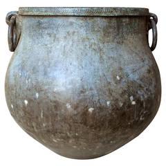 Japanese Meiji Bronze Vessel