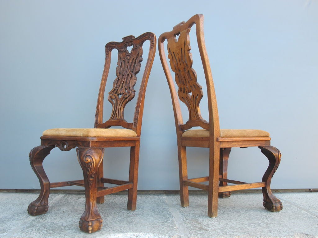 Mexican Chippendale Chairs At 1stdibs