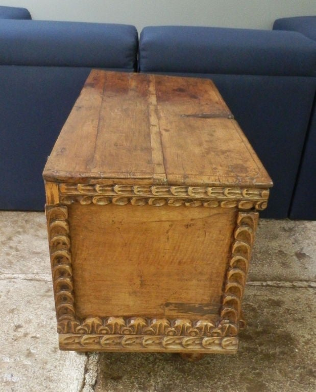 18th C. Spanish Colonial Trunk For Sale 1