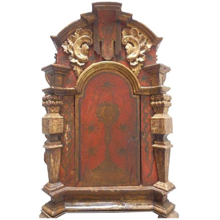 18th Century Spanish Colonial Niche/Tabernacle