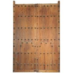 Pair Spanish Colonial Hacienda Doors