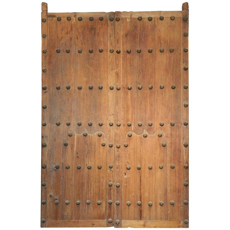 Pair Spanish Colonial Hacienda Doors 1