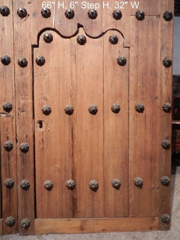Pair Spanish Colonial Hacienda Doors 2