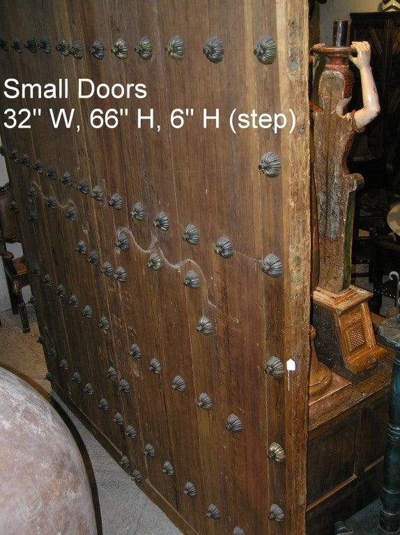 Pair Spanish Colonial Hacienda Doors 3