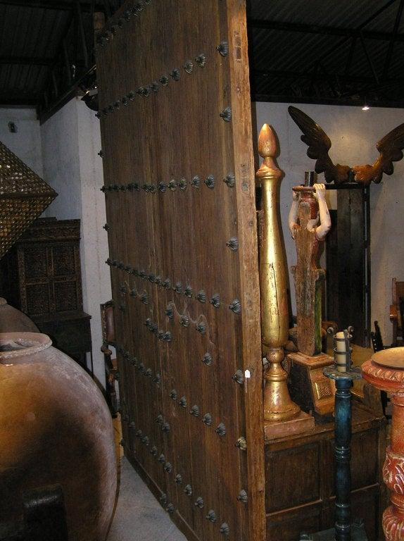 Pair Spanish Colonial Hacienda Doors 4