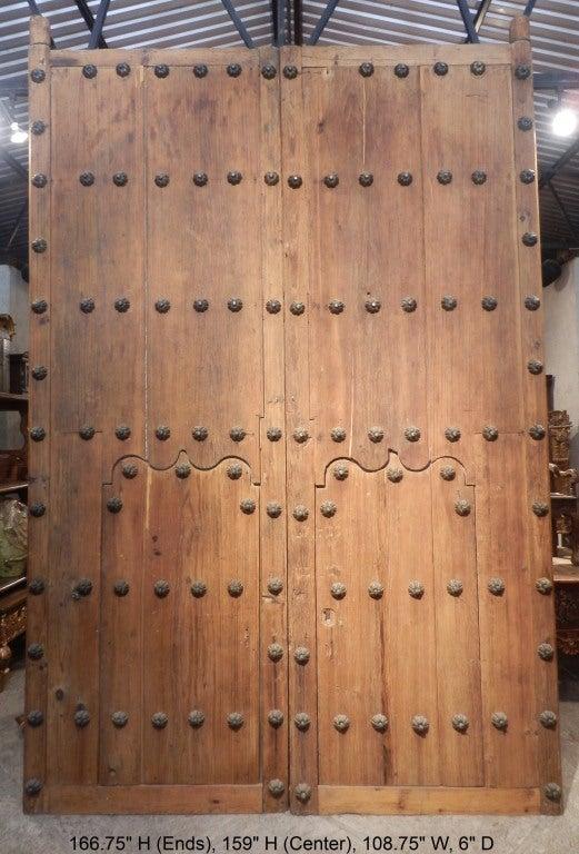 Pair Spanish Colonial Hacienda Doors 5