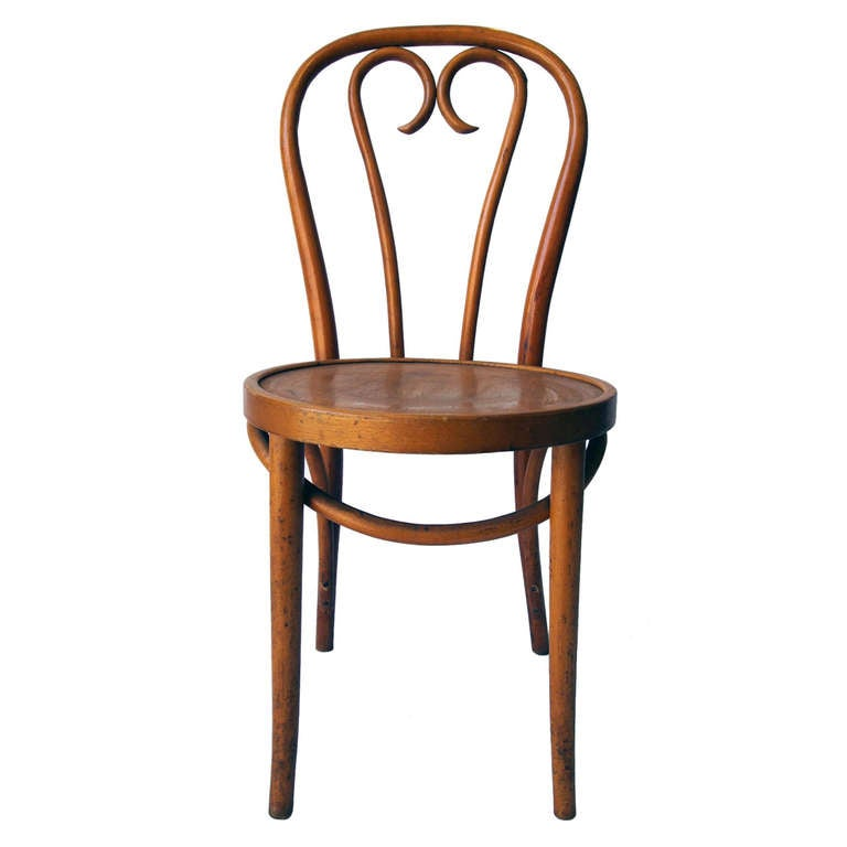 set of 4 french bentwood bistro chairs 1 - Bistro Chairs