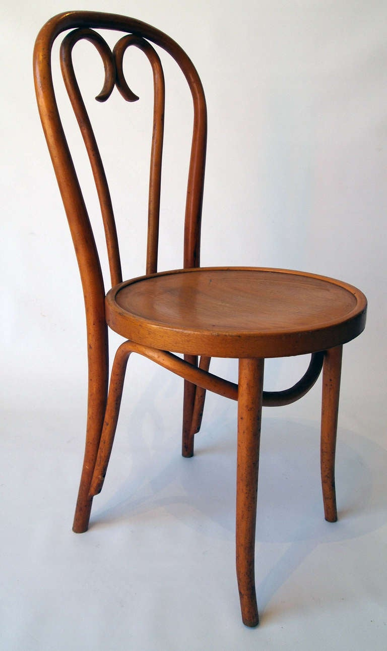 set of 4 french bentwood bistro chairs 2 - Bistro Chairs