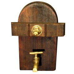 19th Century, French Antique Wine Cask Spigot