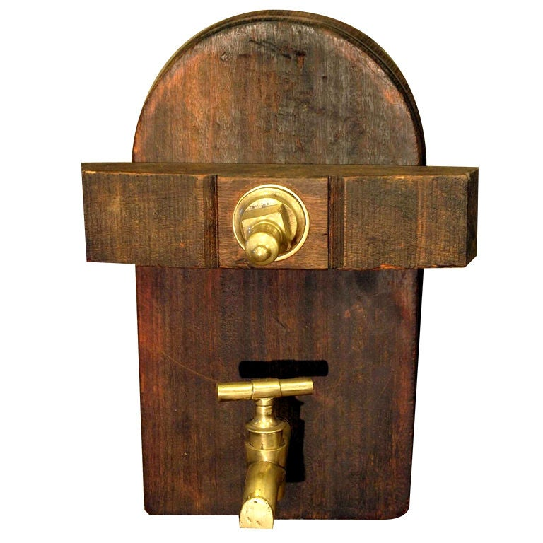 19th Century, French Antique Wine Cask Spigot For Sale at 1stdibs