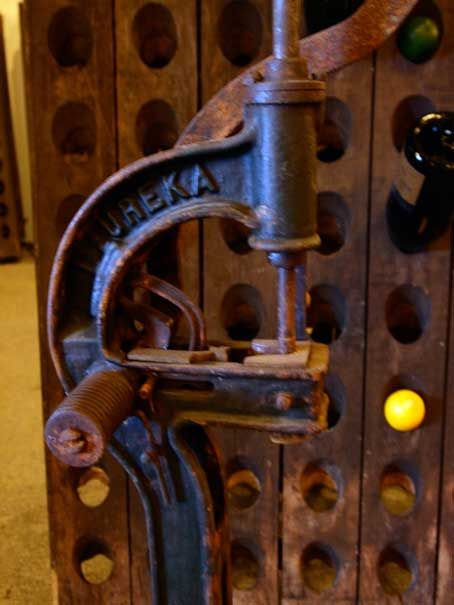 French Antique Wine Corking Machine For Sale At 1stdibs