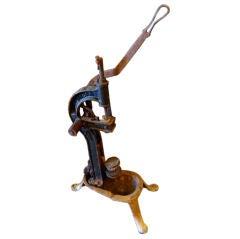 French Antique Wine Corking Machine