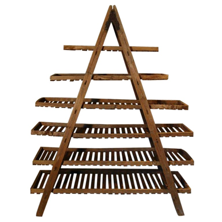 Provencial French Fruit Drying Rack At 1stdibs