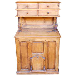 French Kitchen or Pantry, Coal and Wood Cabinet
