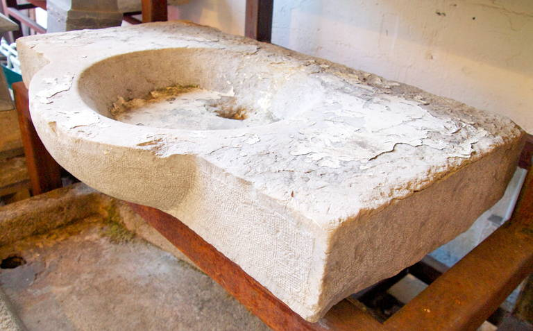 French Stone Sink : This 18th Century French Stone Sink is no longer available.